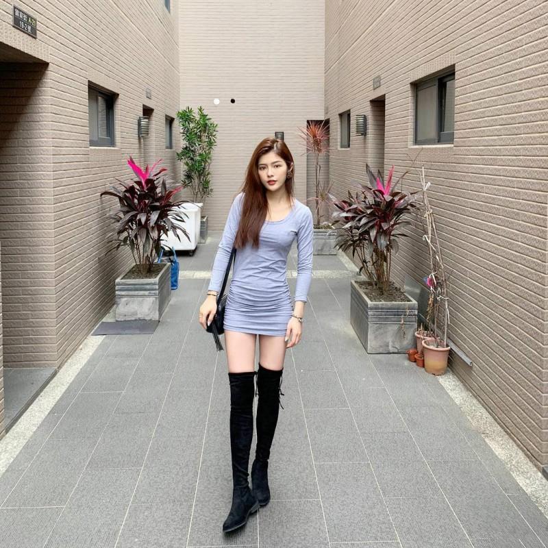 大学生正妹曾湘媛 水汪汪的大眼睛美女甜美诱人
